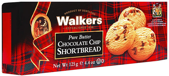 Walkers Chocolate Chip Cookies (4.4 oz)
