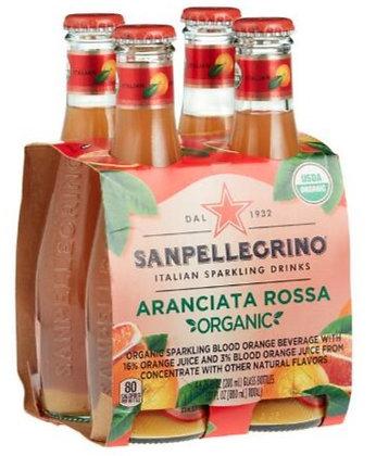 San Pellegrino Aranciata Rossa/Blood Orange Bottles (4 pack)