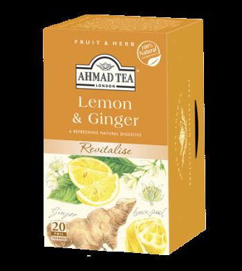 Ahmad Lemon & Ginger Tea