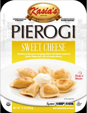 Kasias Sweet Cheese Pierogi