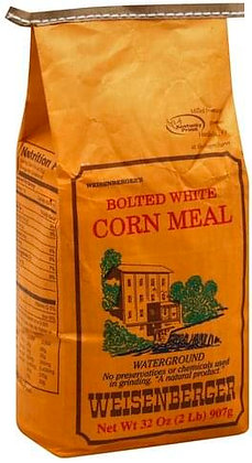 Weisenberger Bolted White Corn Meal