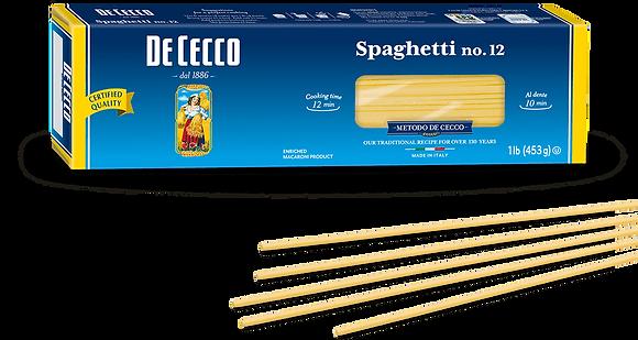 DeCecco Spaghetti #12
