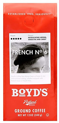 Boyd's French #6 Ground Coffee