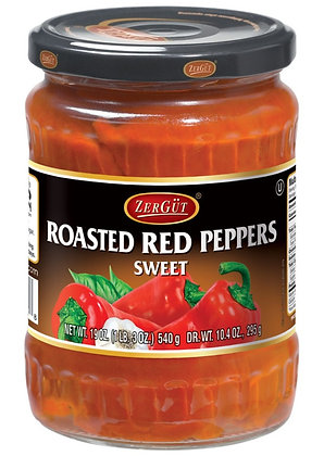 Zergut Sweet Roasted Red Peppers