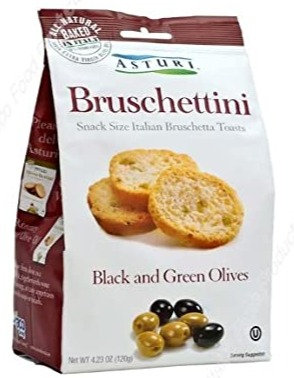 Bruschettini Black & Green Olives