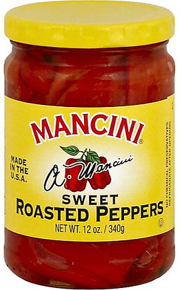 Mancini Sweet Roasted Red Peppers (12 oz)
