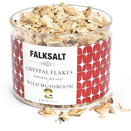 Falksalt Wild Mushroom Sea Salt Crystal Flakes