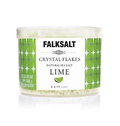 Falksalt Lime Sea Salt Crystal Flakes