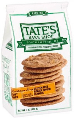 Tate's Gluten-Free Ginger Zinger Cookies