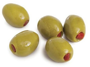 Greek Olives with Red Peppers