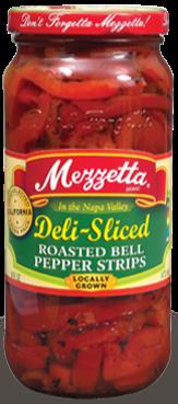 Mezzetta Deli-Sliced Roasted Bell Peppers