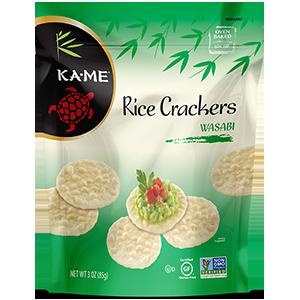 Kame Wasabi Rice Crackers