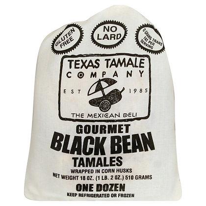 Texas Tamale Black Bean Tamales