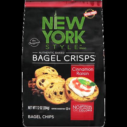 New York Style Bagel Crisps - Cinnamon Raisin