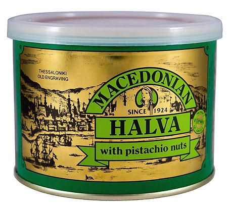 Macedonian Halva with Pistachios