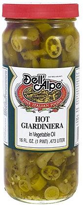 Dell 'Alpe Hot Giardiniera (16 oz)