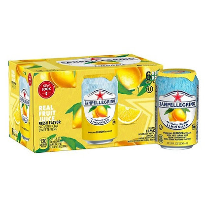 San Pellegrino Limonata/Lemon (6 pack)