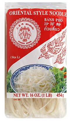 Banh Pho Oriental Style Noodles (long)