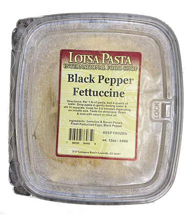 Black Pepper Fettuccine