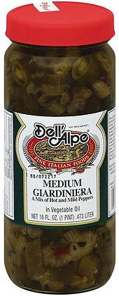 Dell 'Alpe Medium Giardiniera (16 oz)