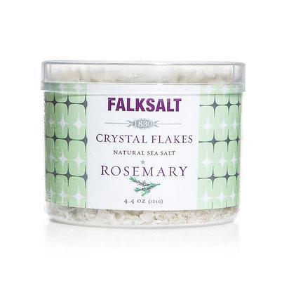 Falksalt Rosemary Sea Salt Crystal Flakes