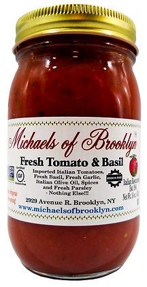 Michael's of Brooklyn Tomato Basil Sauce (16 oz)