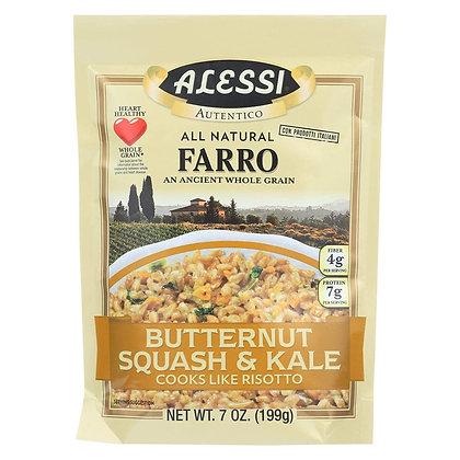 Alessi Farro with Butternut Squash & Kale