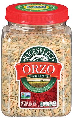 Rice Select Tri-Color Orzo