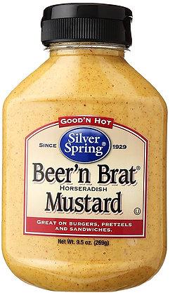 Silver Springs Beer n Brat Mustard
