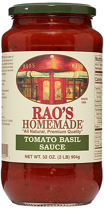Rao's Tomato Basil Sauce