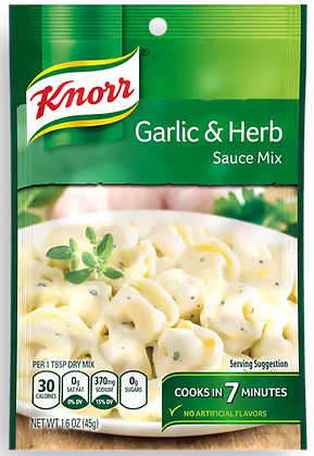 Knorr Garlic & Herb Sauce Mix