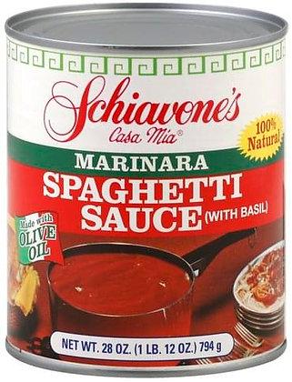 Schiavone's Marinara Spaghetti Sauce