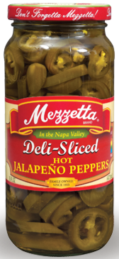 Mezzetta Deli-Sliced Hot Jalapenos (16 oz)