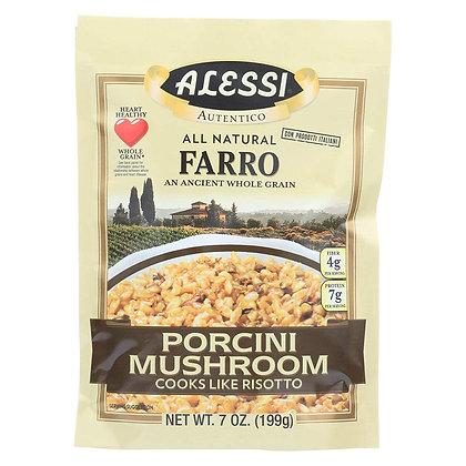 Alessi Farro with Porcini Mushrooms