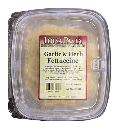 Garlic & Herb Fettuccine