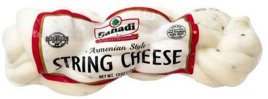 Sahadi Armenian Style String Cheese