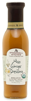 Stonewall Kitchen Organic Miso Ginger Dressing