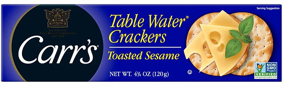 Carr's Toasted Sesame Water Crackers