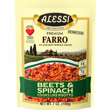 Alessi Farro with Beets & Spinach