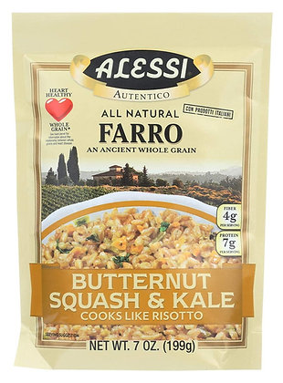 Alessi Farro with Butternut Squash & Kale