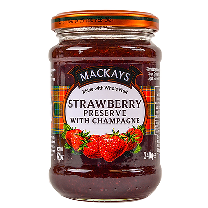 Mackay's Strawberry Marmalade with Champagne
