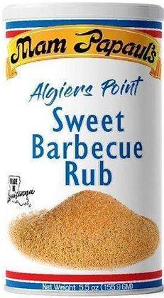 Mam Papaul's Algiers Point Sweet BBQ Rub