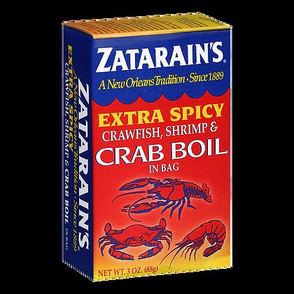 Zatarain's Extra Spicy Crab Boil