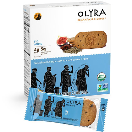 Olyra Fig Anise Breakfast Biscuits
