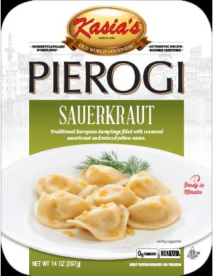 Kasias Sauerkraut Pierogi