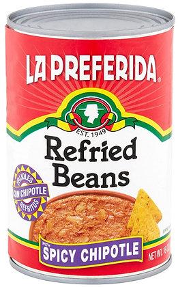La Preferida Spicy Chipotle Refried Beans
