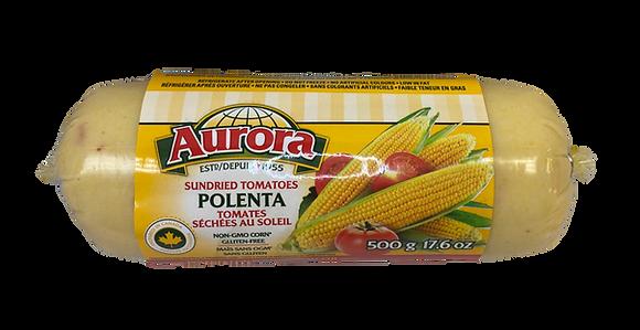 Aurora Polenta with Sundried Tomatoes