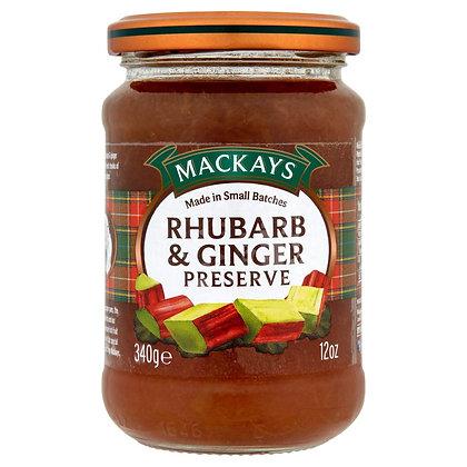 Mackay's Rhubarb & Ginger Preserves