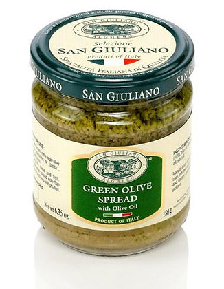 San Giuliano Green Olive Spread