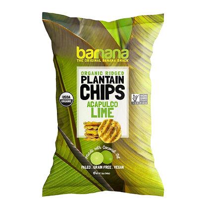 Barnana Acalpuco Lime Plantain Chips